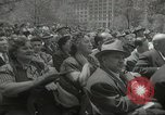 Image of Founding of Israel New York City USA, 1948, second 50 stock footage video 65675061338