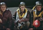 Image of B-17 Flying Fortress crew United Kingdom, 1943, second 11 stock footage video 65675061373