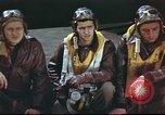 Image of B-17 Flying Fortress crew United Kingdom, 1943, second 12 stock footage video 65675061373