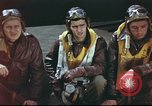 Image of B-17 Flying Fortress crew United Kingdom, 1943, second 15 stock footage video 65675061373