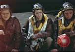 Image of B-17 Flying Fortress crew United Kingdom, 1943, second 18 stock footage video 65675061373