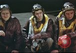 Image of B-17 Flying Fortress crew United Kingdom, 1943, second 25 stock footage video 65675061373