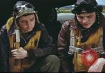 Image of B-17 Flying Fortress crew United Kingdom, 1943, second 47 stock footage video 65675061373