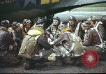 Image of B-17 Flying Fortress crew United Kingdom, 1943, second 49 stock footage video 65675061373