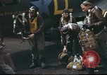 Image of B-17 Flying Fortress crew United Kingdom, 1943, second 58 stock footage video 65675061373
