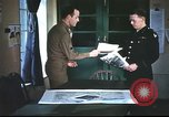 Image of B-17aircrew debriefing after mission United Kingdom, 1943, second 5 stock footage video 65675061378