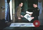 Image of B-17aircrew debriefing after mission United Kingdom, 1943, second 6 stock footage video 65675061378