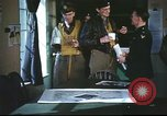 Image of B-17aircrew debriefing after mission United Kingdom, 1943, second 16 stock footage video 65675061378