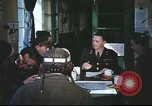 Image of B-17aircrew debriefing after mission United Kingdom, 1943, second 30 stock footage video 65675061378