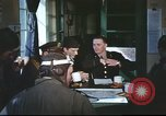 Image of B-17aircrew debriefing after mission United Kingdom, 1943, second 31 stock footage video 65675061378