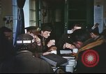 Image of B-17aircrew debriefing after mission United Kingdom, 1943, second 39 stock footage video 65675061378