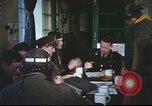 Image of B-17aircrew debriefing after mission United Kingdom, 1943, second 40 stock footage video 65675061378