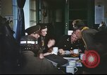 Image of B-17aircrew debriefing after mission United Kingdom, 1943, second 41 stock footage video 65675061378