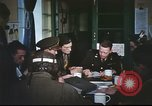 Image of B-17aircrew debriefing after mission United Kingdom, 1943, second 42 stock footage video 65675061378