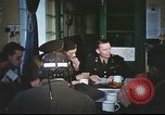 Image of B-17aircrew debriefing after mission United Kingdom, 1943, second 44 stock footage video 65675061378