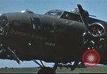 Image of B-17 Flying Fortress bomber crew United Kingdom, 1943, second 3 stock footage video 65675061380