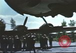 Image of B-17 Flying Fortress bomber crew United Kingdom, 1943, second 5 stock footage video 65675061380