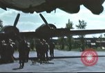 Image of B-17 Flying Fortress bomber crew United Kingdom, 1943, second 6 stock footage video 65675061380
