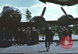 Image of B-17 Flying Fortress bomber crew United Kingdom, 1943, second 8 stock footage video 65675061380