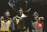 Image of B-17 Flying Fortress bomber crew United Kingdom, 1943, second 10 stock footage video 65675061380