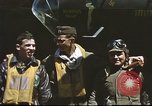 Image of B-17 Flying Fortress bomber crew United Kingdom, 1943, second 12 stock footage video 65675061380