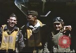 Image of B-17 Flying Fortress bomber crew United Kingdom, 1943, second 14 stock footage video 65675061380