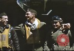 Image of B-17 Flying Fortress bomber crew United Kingdom, 1943, second 15 stock footage video 65675061380