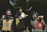 Image of B-17 Flying Fortress bomber crew United Kingdom, 1943, second 16 stock footage video 65675061380
