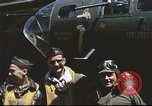 Image of B-17 Flying Fortress bomber crew United Kingdom, 1943, second 17 stock footage video 65675061380