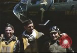 Image of B-17 Flying Fortress bomber crew United Kingdom, 1943, second 18 stock footage video 65675061380