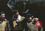 Image of B-17 Flying Fortress bomber crew United Kingdom, 1943, second 19 stock footage video 65675061380