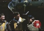 Image of B-17 Flying Fortress bomber crew United Kingdom, 1943, second 20 stock footage video 65675061380