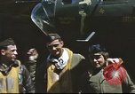 Image of B-17 Flying Fortress bomber crew United Kingdom, 1943, second 22 stock footage video 65675061380