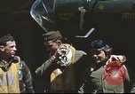 Image of B-17 Flying Fortress bomber crew United Kingdom, 1943, second 23 stock footage video 65675061380