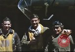 Image of B-17 Flying Fortress bomber crew United Kingdom, 1943, second 24 stock footage video 65675061380