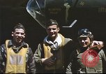 Image of B-17 Flying Fortress bomber crew United Kingdom, 1943, second 25 stock footage video 65675061380