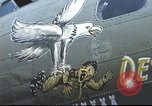 Image of B-17 Flying Fortress bomber crew United Kingdom, 1943, second 36 stock footage video 65675061380