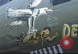 Image of B-17 Flying Fortress bomber crew United Kingdom, 1943, second 38 stock footage video 65675061380