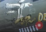 Image of B-17 Flying Fortress bomber crew United Kingdom, 1943, second 39 stock footage video 65675061380