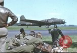 Image of B-17 Flying Fortress bomber crew United Kingdom, 1943, second 48 stock footage video 65675061380