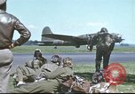 Image of B-17 Flying Fortress bomber crew United Kingdom, 1943, second 49 stock footage video 65675061380