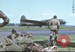 Image of B-17 Flying Fortress bomber crew United Kingdom, 1943, second 50 stock footage video 65675061380