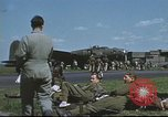 Image of B-17 Flying Fortress bomber crew United Kingdom, 1943, second 56 stock footage video 65675061380