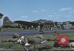 Image of B-17 Flying Fortress bomber crew United Kingdom, 1943, second 60 stock footage video 65675061380