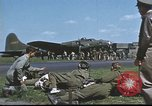 Image of B-17 Flying Fortress bomber crew United Kingdom, 1943, second 62 stock footage video 65675061380