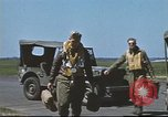 Image of B-17 Crews returning from missions United Kingdom, 1943, second 15 stock footage video 65675061381