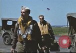 Image of B-17 Crews returning from missions United Kingdom, 1943, second 17 stock footage video 65675061381
