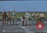 Image of Airmen amuse themselves pitching coins United Kingdom, 1943, second 37 stock footage video 65675061382