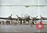 Image of B-17 Flying Fortress bomber crew United Kingdom, 1943, second 13 stock footage video 65675061386