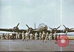 Image of B-17 Flying Fortress bomber crew United Kingdom, 1943, second 14 stock footage video 65675061386